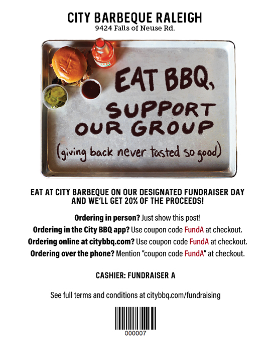 City BBQ-RAL-Fundraiser Social Image_FundA_Raleigh